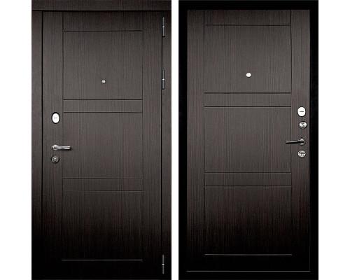 Входная металлическая дверь Дверной Континент Тепло-Макс 3К (Венге / Венге)