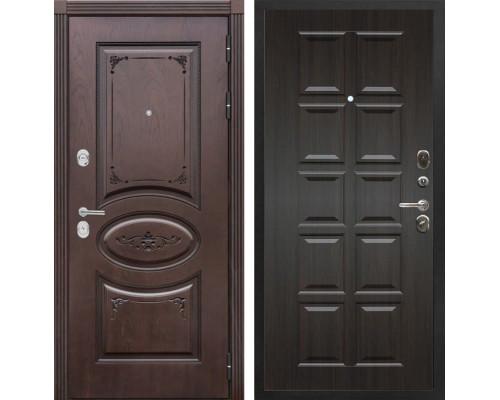 Входная металлическая дверь Сенатор Верона Т-13 (Дуб коньяк / ЭкоВенге)