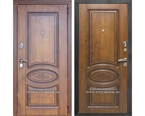 Входная металлическая дверь Орион Винорит (Голден патина /  Голден патина)