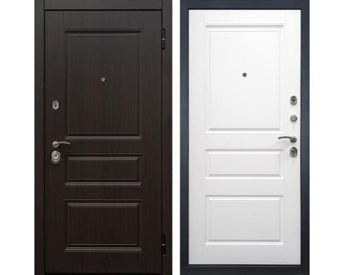 Входная металлическая дверь Снедо Гранд 2К (Венге винорит / Белый матовый)