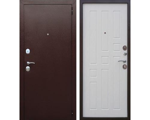 Входная дверь Гарда 60 (Антик Медь / Ясень белый)