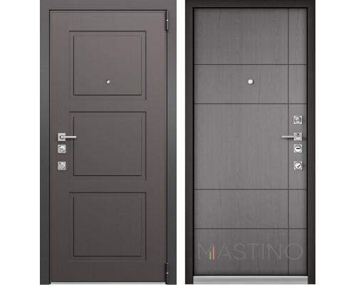 Входная металлическая дверь Mastino Forte (Синхропоры модерн MS-104 / Синхропоры титан MS-114)