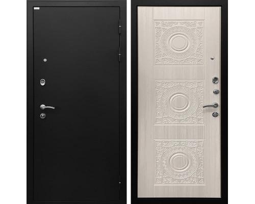Входная металлическая дверь Ратибор Спарта (Белый жемчуг)