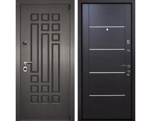 Входная металлическая дверь Милан Молдинг (Венге патина / Венге)
