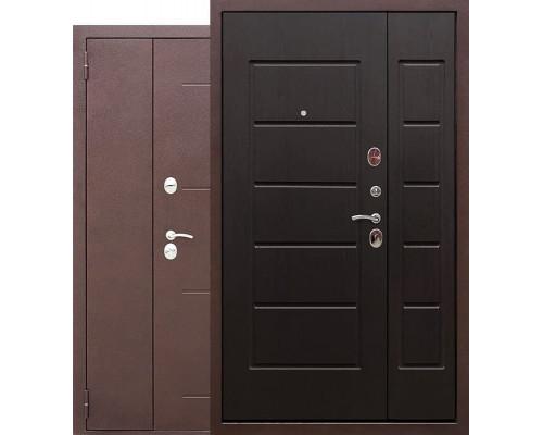Тамбурная металлическая дверь Гарда 1200-1300х2050 (Антик Медь / Венге)