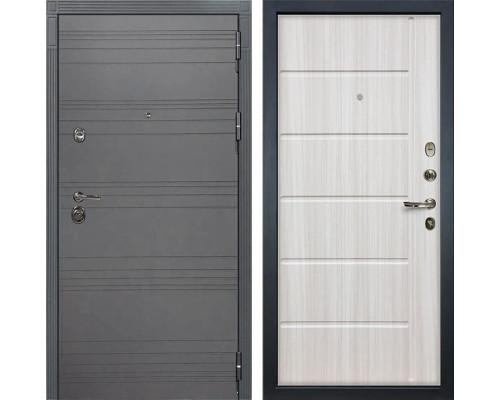 Входная дверь Лекс Сенатор 3К Софт графит (№42 Сандал белый)