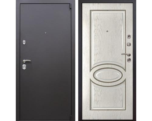 Входная металлическая дверь Квадро 70 (Искра коричневая / Капучино)