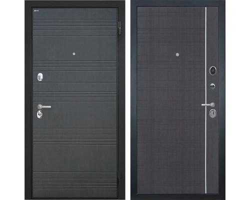 Входная металлическая дверь Интекрон Спарта L-6 (Венге / Венге)