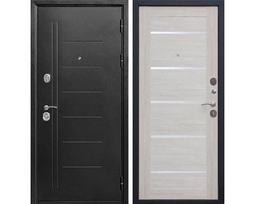 Входная дверь Троя (Антик темное Серебро / Лиственница беж)