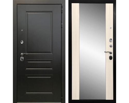 Входная металлическая дверь Ратибор Монолит 3К Зеркало (Венге / Сандал белый)
