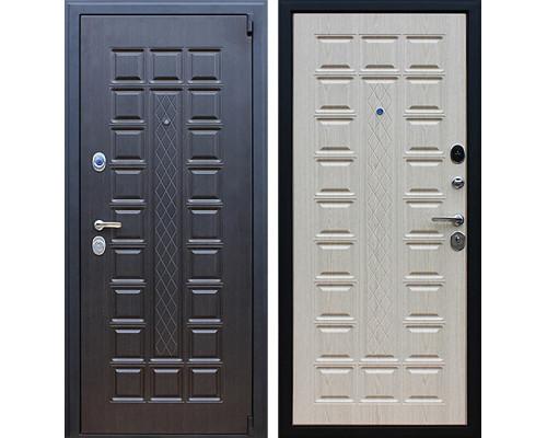 Входная металлическая дверь АСД Консул (Венге / Дуб белёный)