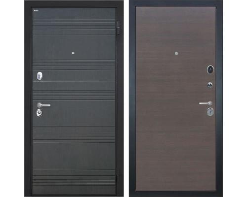 Входная металлическая дверь Интекрон Спарта (Венге / ЭкоВенге)