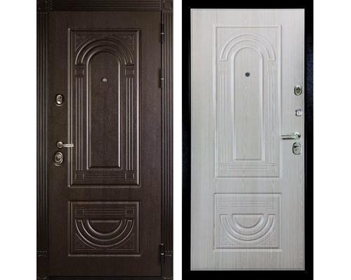 Входная дверь Дива МД-32 (Венге / Дуб Филадельфия крем)