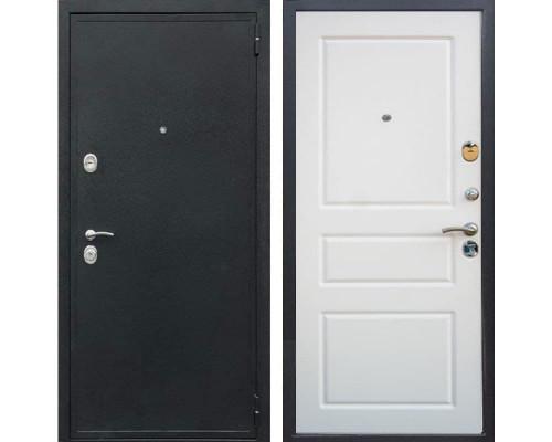Входная металлическая дверь Персона Евро Система (Черный шелк / Ясень белый)