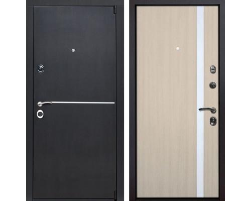 Входная металлическая дверь Римини Z6 (Венге патина / Капучино)