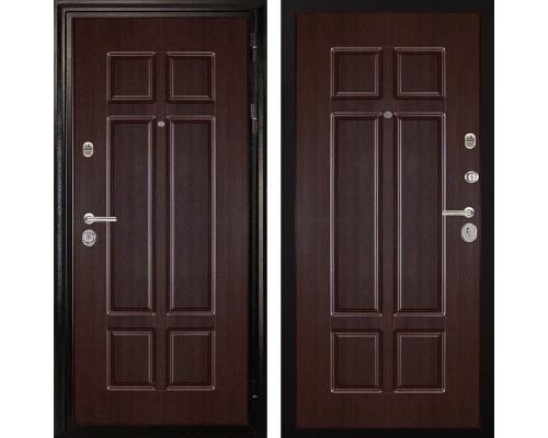 Входная металлическая дверь Дива МД-07 (Венге / Венге)