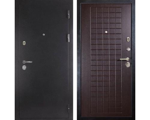 Входная металлическая дверь Дива МД-26 (Антик серебро / Венге)