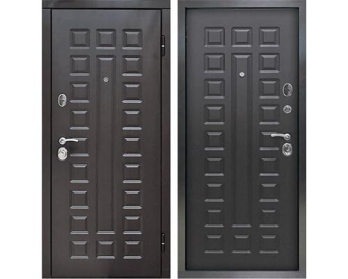 Входная металлическая дверь Снедо Сенатор 2К (Венге винорит / Венге)