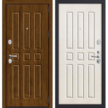 Дверь входная металлическая Groff P3-303 П-25 (Французский Дуб / Беленый Дуб)