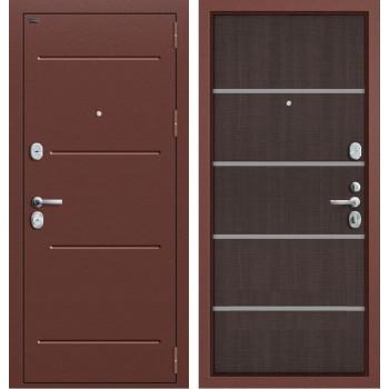 Дверь входная металлическая Groff T2-204 (Wenge Crosscut)
