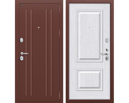 Дверь входная металлическая Groff Т2-232 (Медный антик / Milk Oak)
