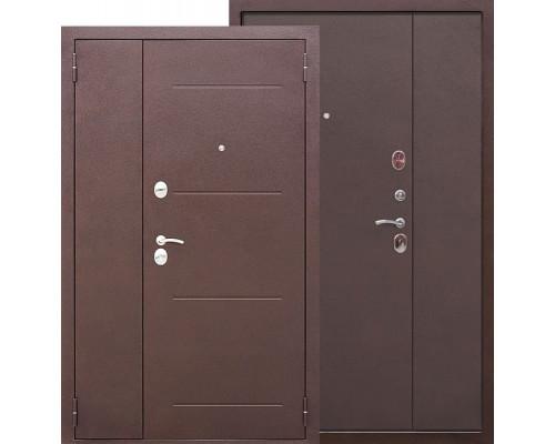Тамбурная металлическая дверь Гарда 1200-1300х2050 (Антик Медь / Антик Медь)