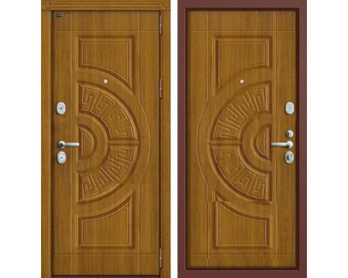 Дверь входная металлическая Groff P3-302 П-4 (Дуб золотой / Дуб золотой)