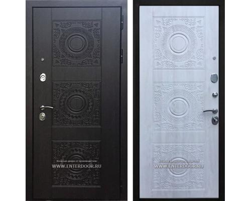 Входная металлическая дверь Армада 10 Богема (Венге / Сосна белая или Венге)