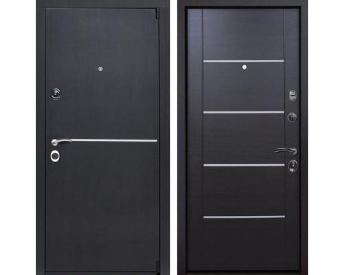 Входная металлическая дверь Римини Молдинг (Венге патина / Венге)