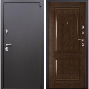 Входная металлическая дверь Квадро 71 (Искра коричневая / Каштан)