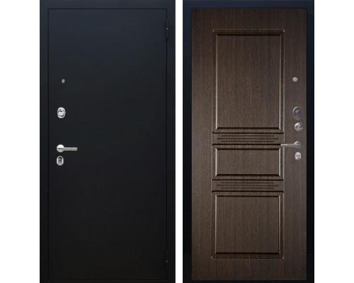 Входная металлическая дверь Аргус Люкс ПРО Сабина (Чёрный шелк / Венге)