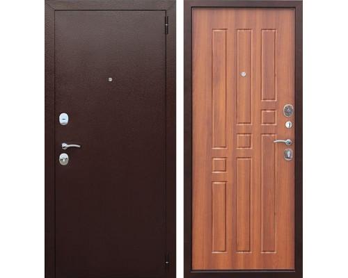 Входная дверь Гарда 60 (Антик Медь / Рустикальный дуб)