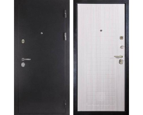 Входная металлическая дверь Дива МД-26 (Антик серебро / Сандал белый)