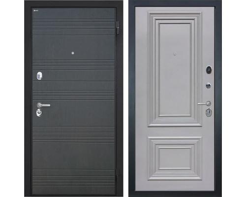 Входная металлическая дверь Интекрон Спарта Сан Ремо-2 (Венге / Пыльно-серый)