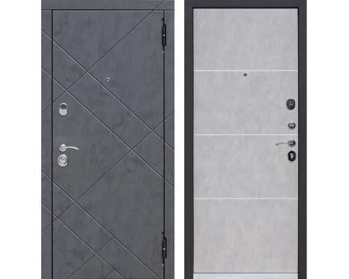 Входная дверь Бруклин (Бетон графит / Бетон пепельный)