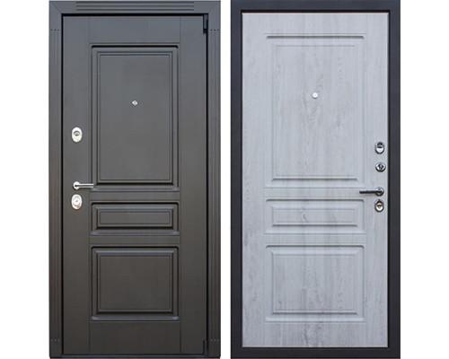 Входная металлическая дверь АСД Гермес 3К New (Венге / Сосна белая)