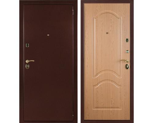 Входная стальная дверь Лайт 3К (Дуб рон)