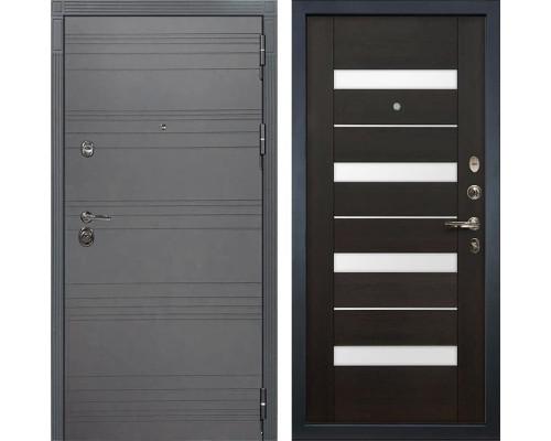 Входная дверь Лекс Сенатор 3К Софт графит Сицилио (№51 Венге)