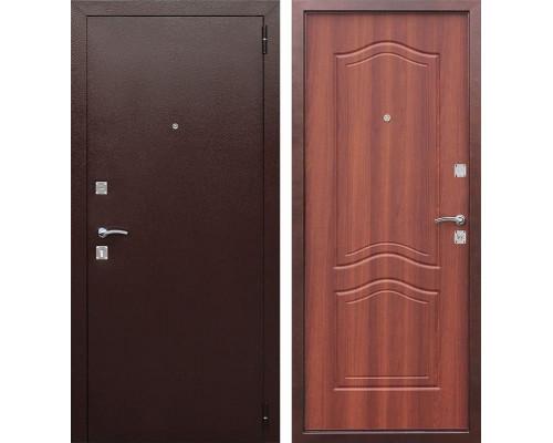Входная дверь Доминанта (Антик Медь / Рустикальный дуб)
