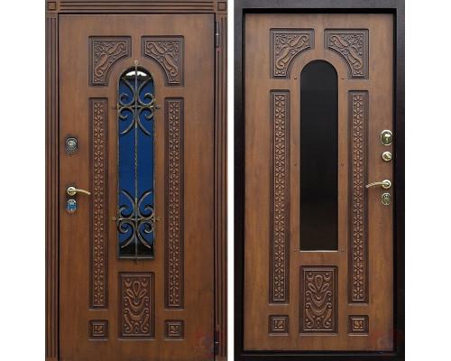 Входная уличная стальная дверь Лацио Винорит