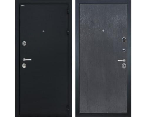 Входная стальная дверь Интекрон Колизей (Чёрный шелк / ЭкоВенге)