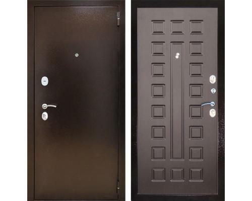 Входная металлическая дверь Снедо Патриот 2К (Медный антик / Венге)