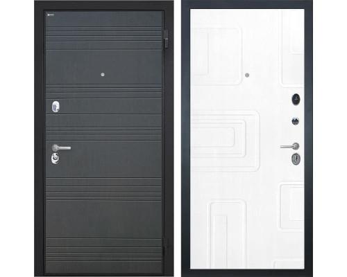 Входная металлическая дверь Интекрон Спарта Элит (Венге / Роял Вуд белый)