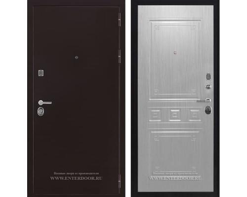 Входная металлическая дверь Соломон Гранд (Антик медь / Сандал белый)