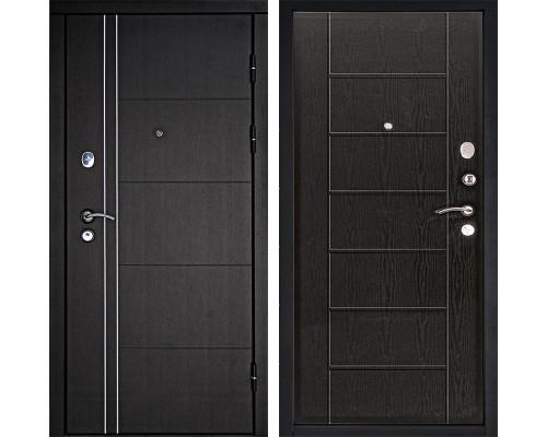 Входная металлическая дверь Дверной Континент Тепло-Люкс 3К (Венге / Венге)