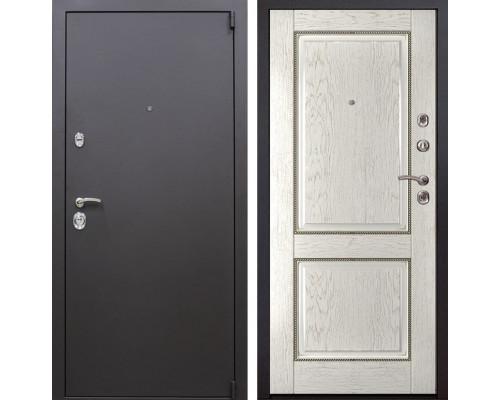 Входная металлическая дверь Квадро 71 (Искра коричневая / Капучино)