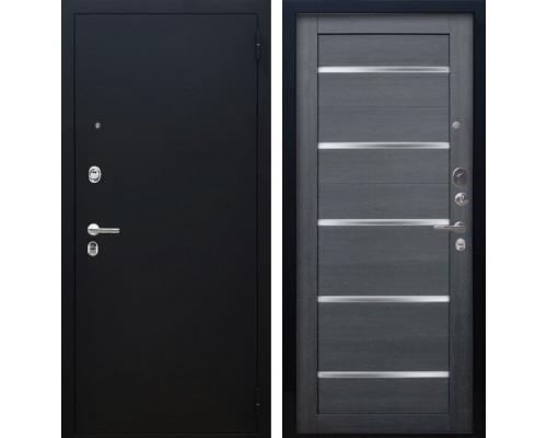 Входная металлическая дверь Аргус Люкс ПРО Александра (Чёрный шелк / Лунная ночь)