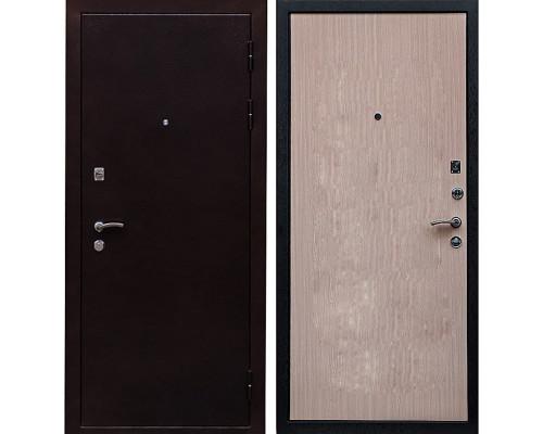 Входная металлическая дверь Ратибор Практик (Венге светлый)