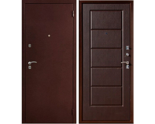 Входная металлическая дверь Юг-03 (Венге)