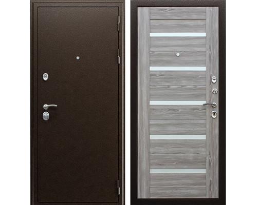 Входная металлическая дверь АСД Маэстро 7Х (Серое дерево)